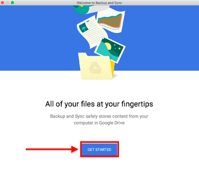 get started with google drive